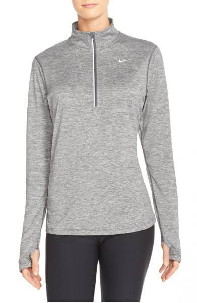 element dry fit half zip
