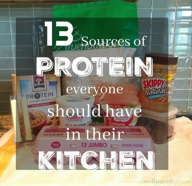 13 sources of protein everyone should have in their kitchen