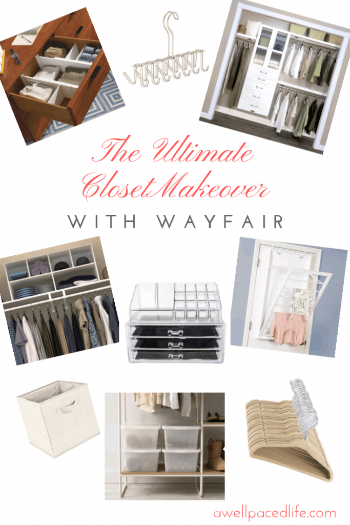 The Ultimate Closet Makeover with Wayfair