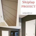 DIY Home Shiplap Project