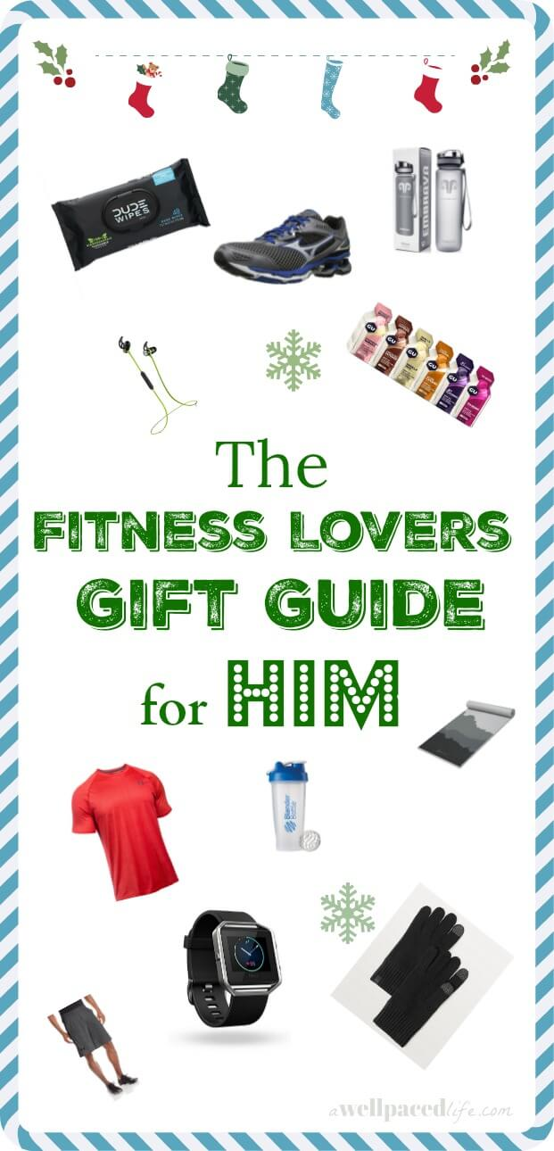 the fitness lovers gift guide for him